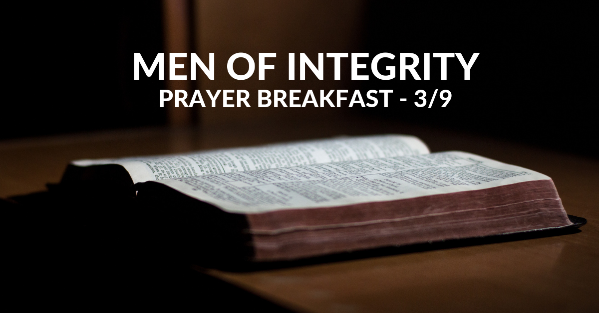 Men's Prayer Breakfast March 2019